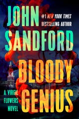 "Book cover for ""Bloody Genius"" by John Sandford"