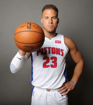Pistons forward Blake Griffin.