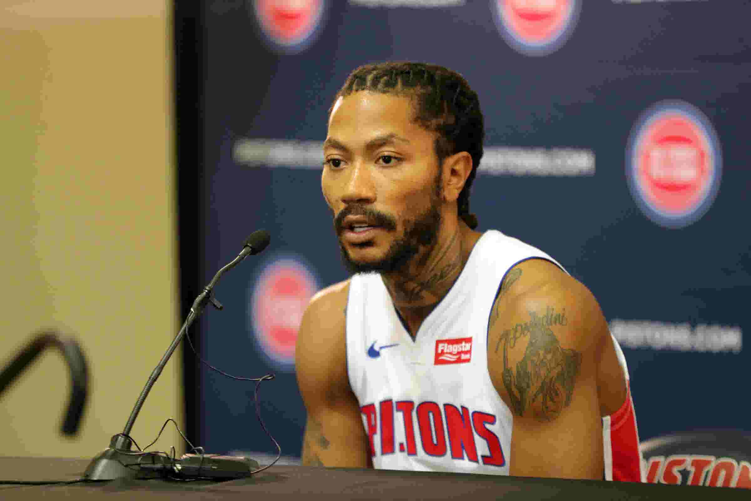 Astonishing Derrick Rose On Why He Signed With Detroit Pistons In Summer Schematic Wiring Diagrams Amerangerunnerswayorg