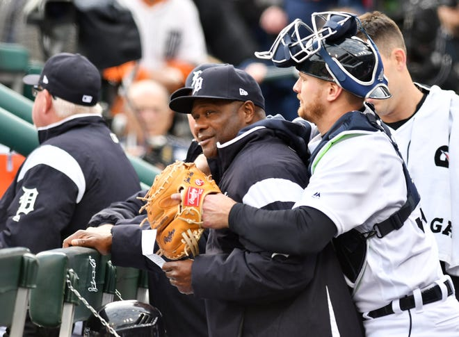 Lloyd McClendon, left, will be the Tigers' new bench coach.