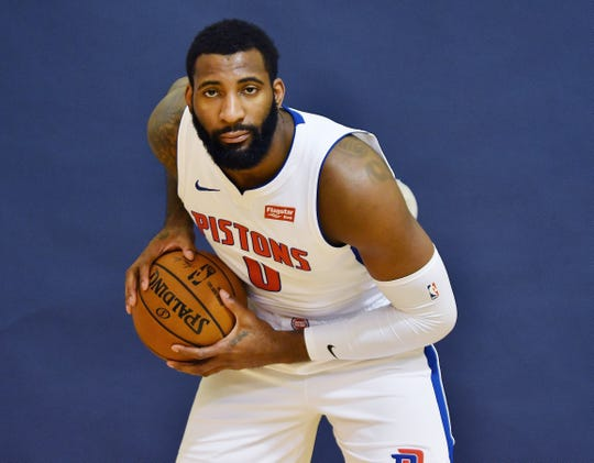 Andre Drummond poses.