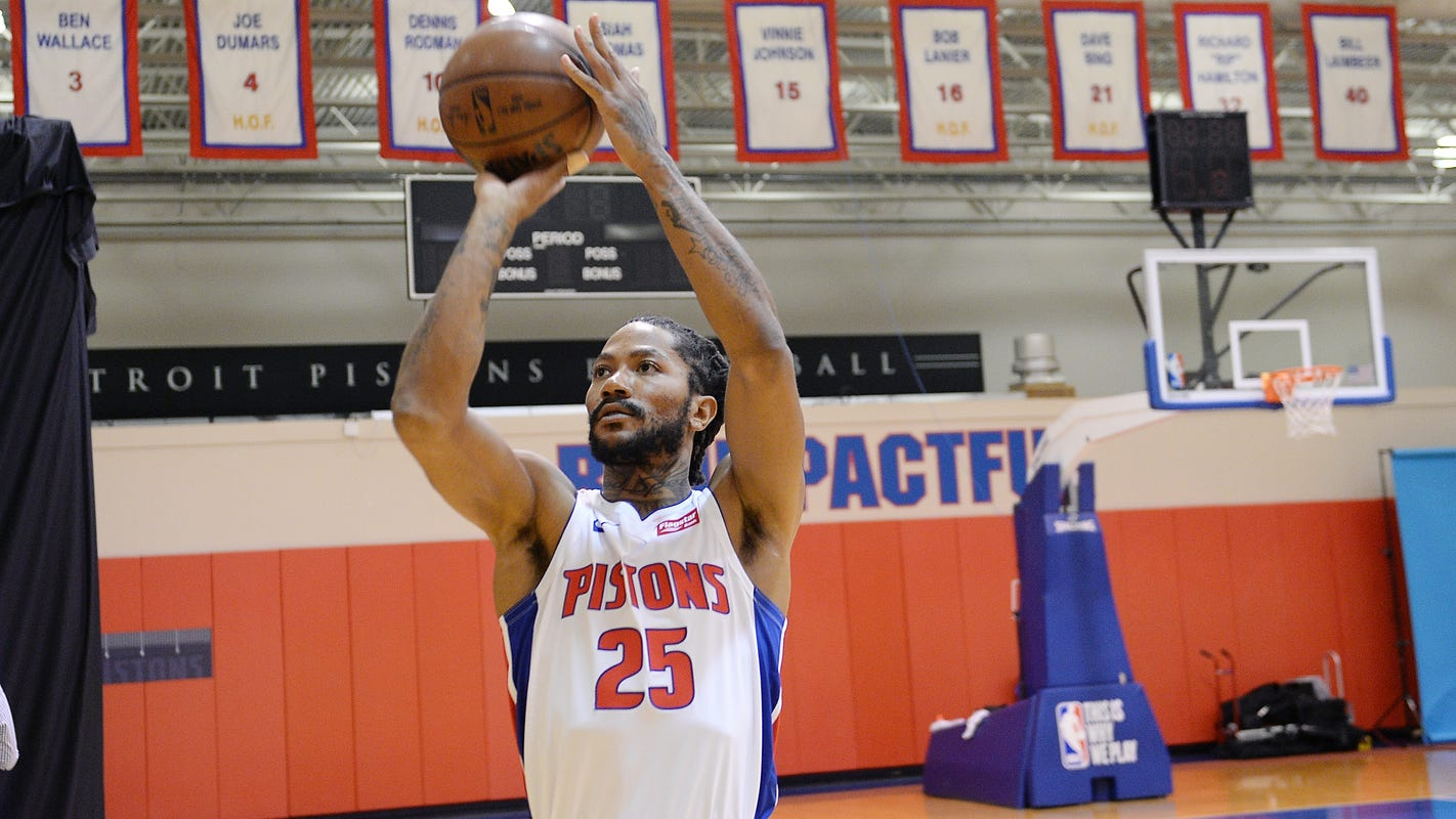 Pistons see Rose as the ignition to drive their offense