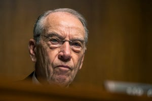 Senate Finance Chairman Chuck Grassley, along with Homeland Security Chairman Ron Johnson, made the request for information about Joe Biden's interactions with Ukrainian officials and whether Ukraine worked with Democrats to get damaging information on President Donald Trump's election campaign.