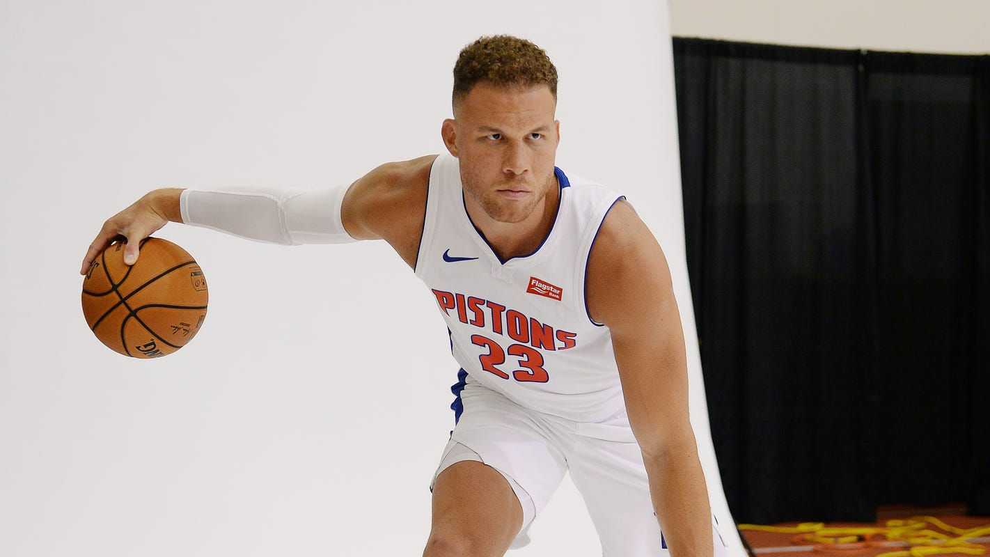 Blake Griffin load management among key takeaways from Pistons' training camp