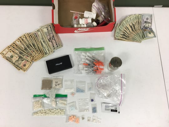 Anthony Cole, 48, of North Fort Myers was arrested Friday on charges of illegal drug trafficking. Among drugs the Lee County Sheriff's Office found after a search warrant was served included crack cocaine, methamphetamines and various pills.