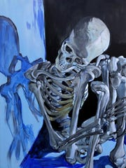 "Amanda Zirzow's ""Despondent"" will be one of many spooky artworks featured in this year's ""Dark Art"" exhibit."