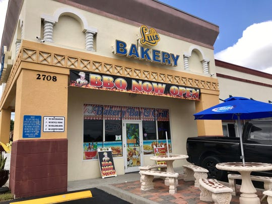 Luis Bakery Bar & Grill is tucked into a strip mall on Santa Barbara Boulevard south of Veterans Parkway in Cape Coral.