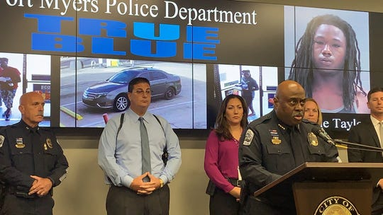 Fort Myers Police chief Derrick Diggs talks about the arrest of two men as suspects in the Sept. 22 homicide of a man at Village Creek Apartments in Fort Myers.