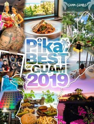 Pika Best of Guam 2019 magazine cover.