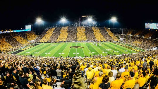 This was the scene the last time Iowa hosted Penn State, on Sept. 23, 2017.