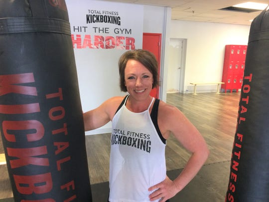 Tonya Wilde has turned a passion into a business at Total Fitness Kickboxing in Powell.