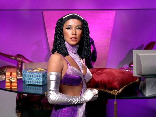 France Nuyen in the 1968 Star Trek episode, Elaan of Troyius