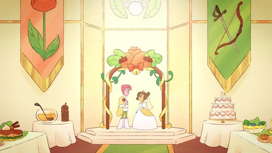 "The Canadian animated short ""The Acorn Princess"" screens Oct. 5, with the feature ""Changing the Game."""