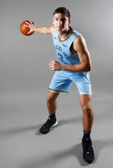 Memphis Grizzlies guard Grayson Allen poses for portraits during the team's Media Day at the FedExForum downtown on Monday, Sept. 30, 2019.