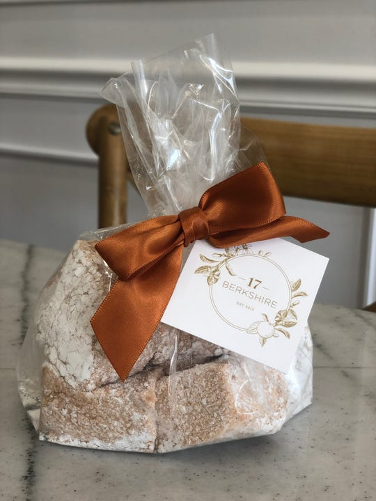 Handmade pumpkin spice marshmallows at 17 Berkshire in Overton Square.