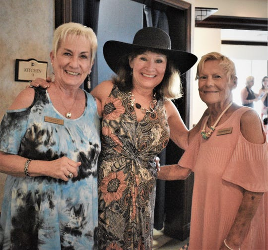From left, Donna Dubey, Kimmie Merkl and Toots Petrella.