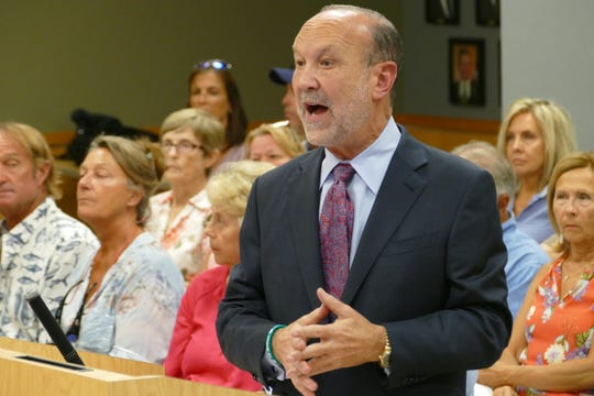 """City of Marco Island lobbyist in Tallahassee, Ronald L. Book, said revenue estimators have painted a less than perfect financial picture for the state. """"When you cut (taxes) and you have a slow down on sales taxes you just have less (money) to spend,"""" Book said during a special City Council meeting on Sept. 26."""