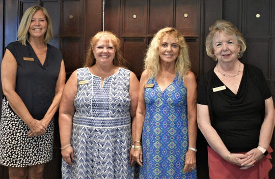 From left, Candi Schott, Jill Sandberg, Natalie Murat and Kathie Richel.