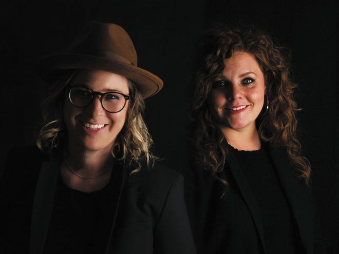"""""""Rare Breed: A Guide to Success for the Defiant, Dangerous, and Different"""" authors Sunny Bonnell, left, and Ashleigh Hansberger."""