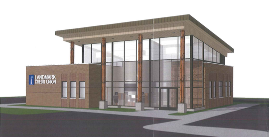 Landmark Credit Union plans to open a 3,800-square-foot branch at 6300 N. Port Washington Road in January 2021.