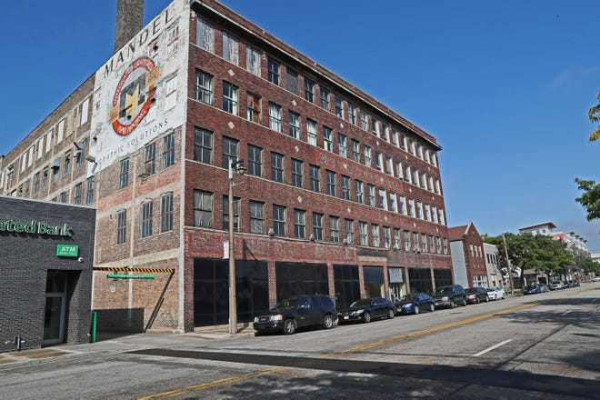 The former Mandel Graphic Solutions building, 1311-1325 N. King Drive,  will be redeveloped into American Family Insurance Co.'s new downtown Milwaukee office.