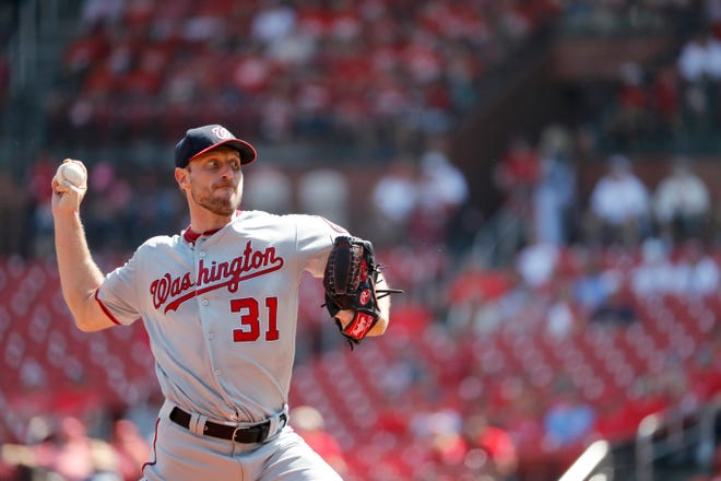 Nationals starter Max Scherzer is 11-7 with a 2.92 ERA but has been hittable since returning from a shoulder injury.