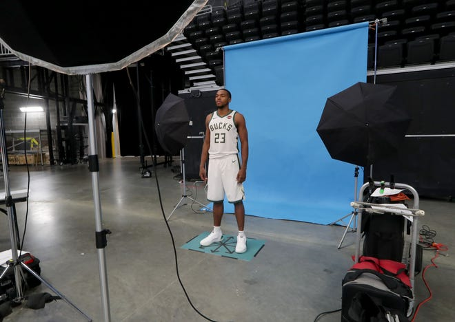 Bucks guard Sterling Brown will be among the many options for coach Mike Budenholzer in the backcourt.