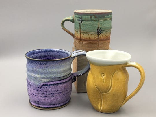 Gordy Fine Art and Framing Company will be selling mugs made by local potters during ArtsWalk 2019.