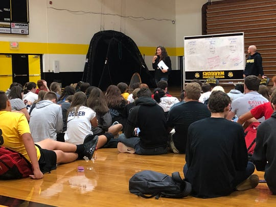 Emotional management and self-regulation were among the topics discussed at the first Watkins Memorial High School 'Warrior-Wellness Day' held recently.
