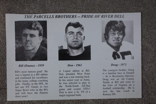 Clippings on the Parcells brothers of Oradell.