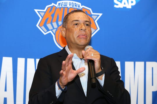 Scott Perry will be returning as the New York Knicks general manager for the 2020-21 season.