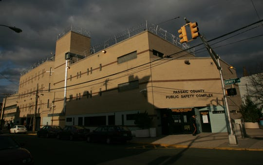 The Passaic County Jail in Paterson.