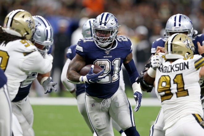The Dallas Cowboys and running back Ezekiel Elliott will be looking to get back on track against the Green Bay Packers.