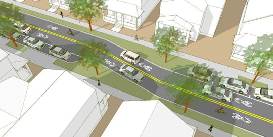 The Florida Department of Transportation is considering chicanes as a means to slow traffic and increase pedestrian safety along West Cervantes Street.