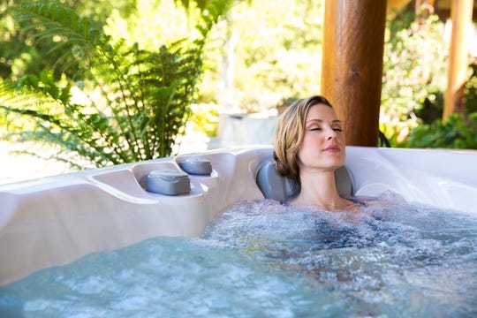 Phoenix's cool mornings and evenings are ideal for soaking, exercising, and even meditating in a hot tub.