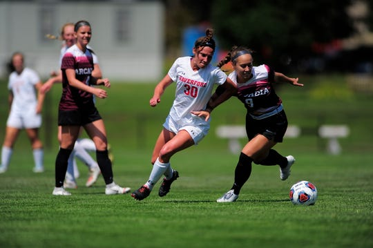 Leanne Ludwick (30) has been a key cog in Haverford's 8-1 start to the season.
