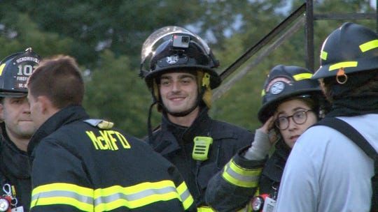 Northeastern grad and Albany basketball player Antonio Rizzuto is a volunteer firefighter in his spare time.