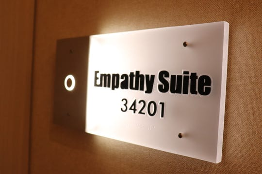 Here's a look inside the Empathy Suite – a $100,000-per-night hotel room at the Palms in Las Vegas.