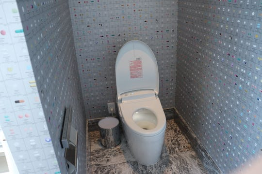 The Empathy Suite has Japanese automatic toilet seats with a motion detectors.