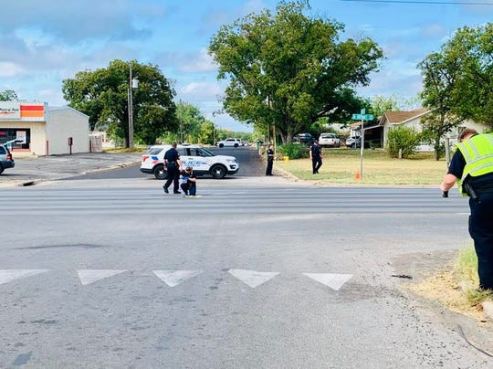 San Angelo police are investigating a shots fired incident in the 1500 block of North Bryant Boulevard on Sept. 30, 2019.