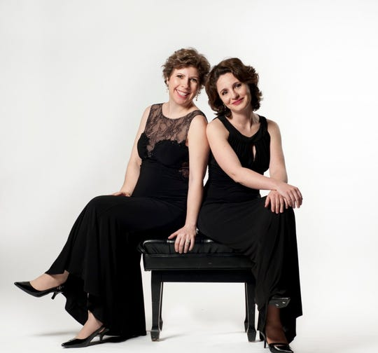 Pianists Stanislava Varshavski, left, and Diana Shapiro will perform at the Stefanie H. Weill Center for Performing Arts in downtown Sheboygan on Saturday, Oct. 5.