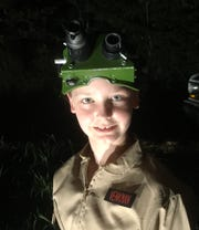 """Cori King, 11, of Bruner, says that her dad Nate Lee got her interested in the """"Ghostbusters"""" movies."""