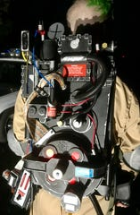 This is a proton pack. It's essential to the work of ghostbusters.