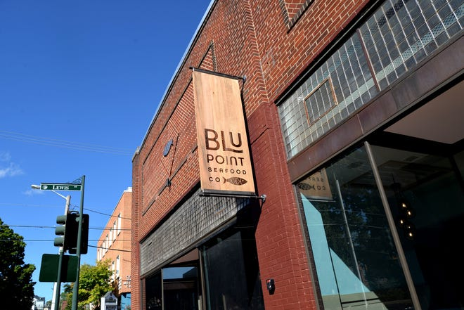 Blu Point Seafood Co. is set to open to the public Oct. 4, 2019 after months of renovation. The new sea-to-table restaurant concept comes from the minds behind Zynodoa — Jeff and Susan Goode.