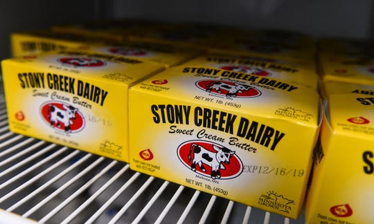 Stony Creek Dairy butter is one product available through Dairy2U in St. Cloud.