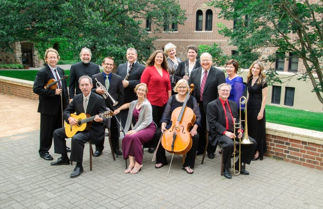 Pastiche will perform at 8 p.m. Oct. 4 in the Stephen B. Humphrey Theater at St. John's University.