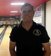 Anthony Zaccheus poses after rolling a 620 series at Dixie Bowl last week.