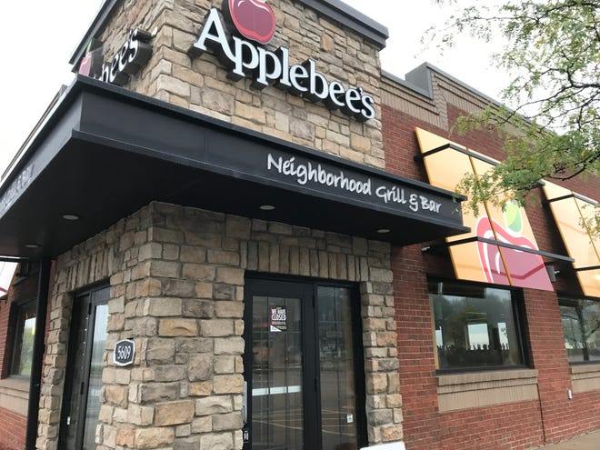 Applebee's closed Sept. 28 at Bayshore Town Center in Glendale.