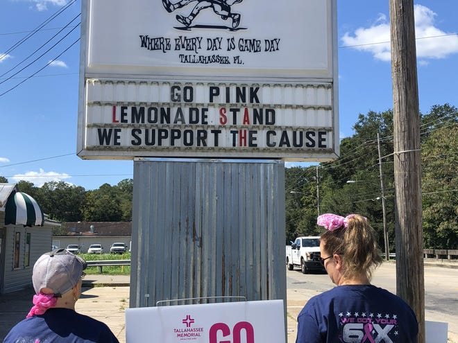 Palace Saloon: We will be selling adult and kid friendly lemonade. We will also have a little breast cancer shop set up, with all money going to the fundraiser.