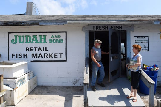 Kevin Judah and his aunt Dot Judah have decided that after 70 years of business, they will close Judah and Sons, a local fish market in Sebastian. Monday, Sept. 30, 2019, was the final day of operation. Finances and years of storm-related damage contributed to the shuttering of the business.